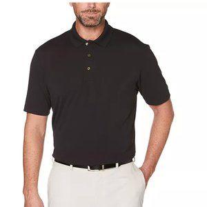 Grand Slam Black Slim Fit Polo